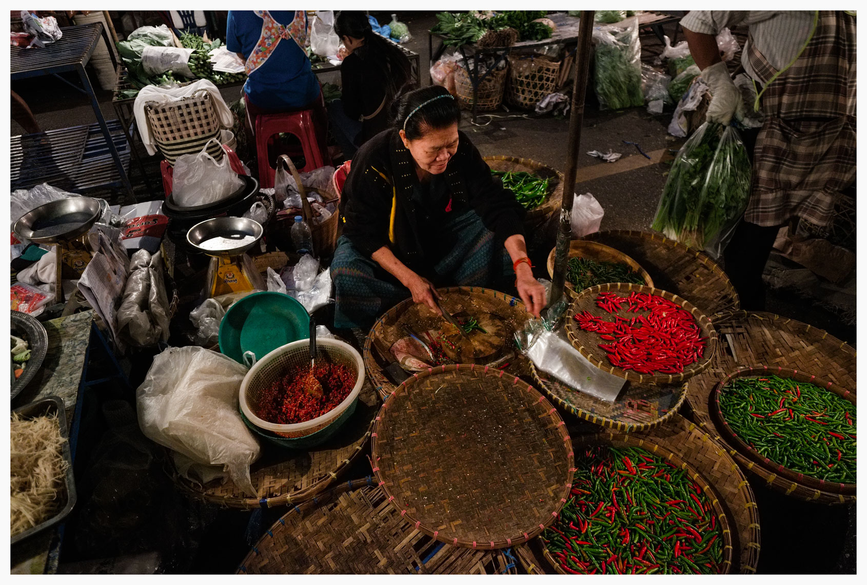 night market chilies